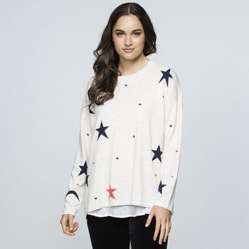 Multi Coloured Star Knit