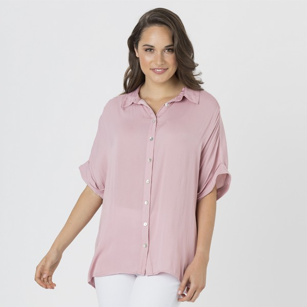 Luxe Short Sleeve Shirt