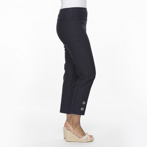 Pin Spot Stretch Pant