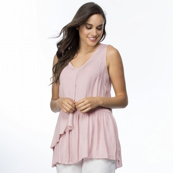Luxe Draped Sleeveless Top