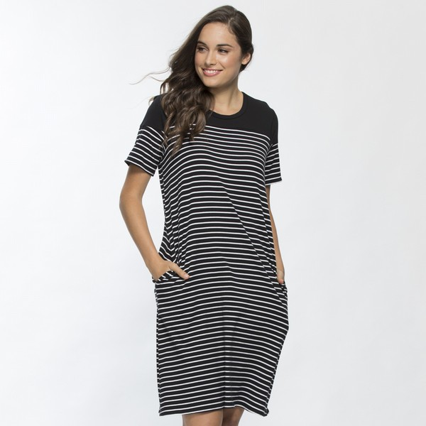 Stripe Cotton Dress