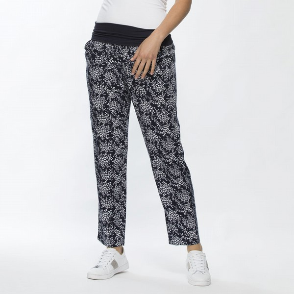 Floral Pull On Pant