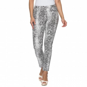 Cotton Animal Print Jean