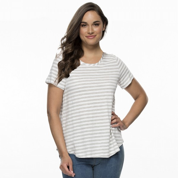 Cotton Stripe Eco Tee