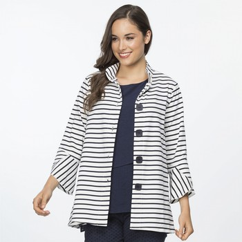 Stripe Swing Jacket