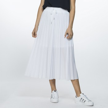 Mesh Pleat Skirt