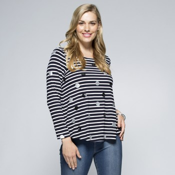 Stripe and Spot Top