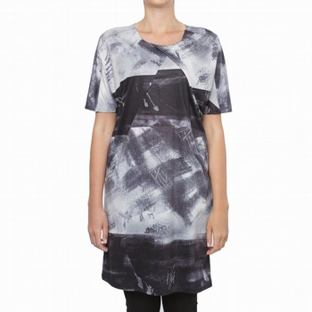 TRIBECA PRINTED JERSEY DRESS