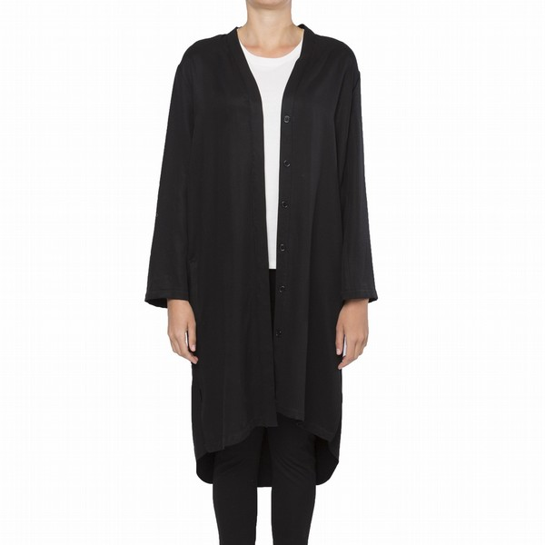 WASHED TENCEL DUSTER DRESS
