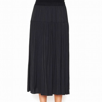 CHARMEUSE CRUSHED SKIRT