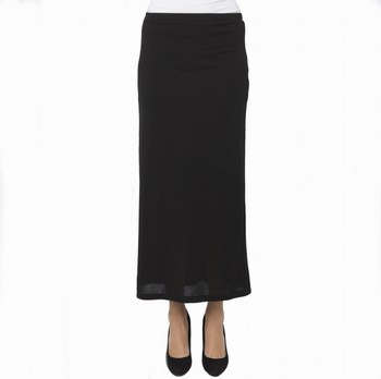 JERSEY KNIT LONG SKIRT