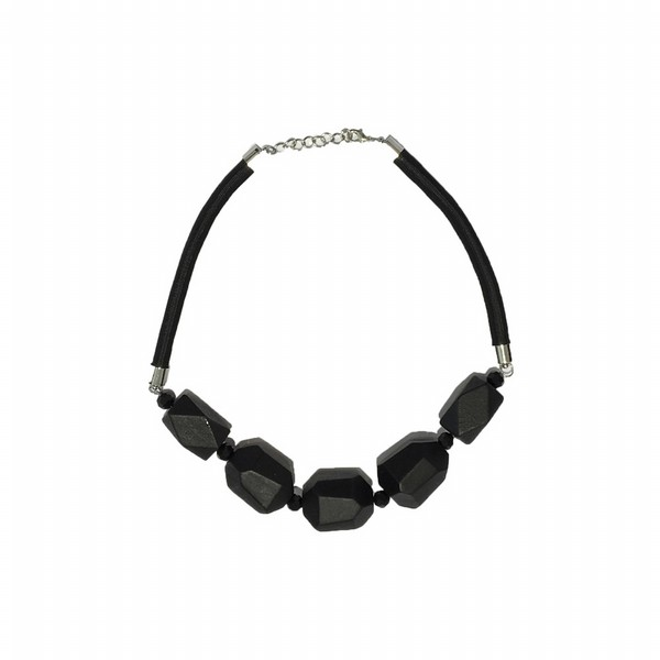 Hexagonal Bead Necklace