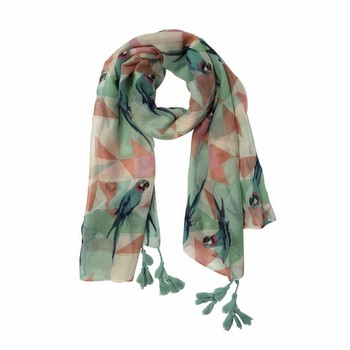 Parrot Print Scarf